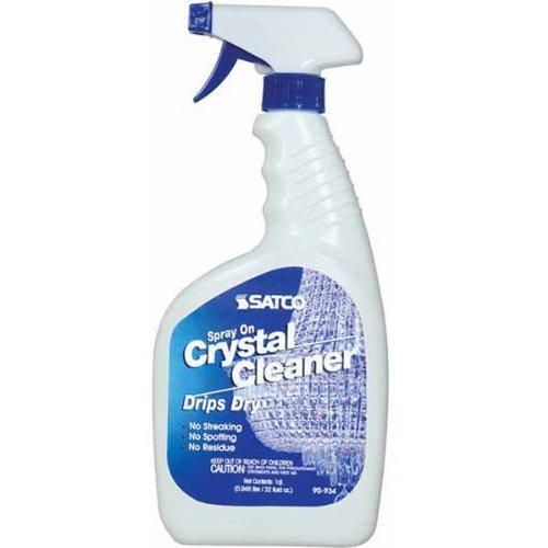 Satco 90934 32 Ounces - Crystal Chandelier Cleaner - Spray On