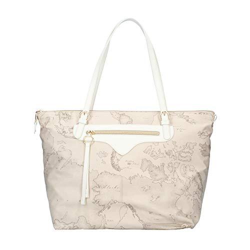 Prima classe Donna Borsa Shopping Soft Safari Arabesque Raphia MOD. GO60 9427