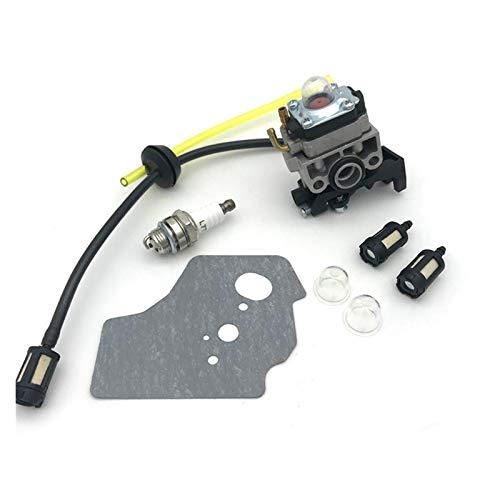 Carburador 125cc Kit de la manguera de la línea de combustible de la línea de combustible de la chispa de la chispa del carburador de la carbohidrato para GX25 GX35 GX 25 35 HHT35 FG110 MOTOR DE CAWER