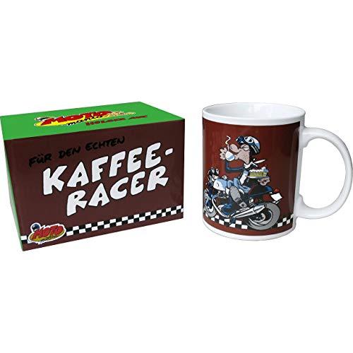MOTOmania Tasse Tasse Kaffee-Racer, Unisex, Multipurpose, Ganzjährig, Keramic