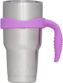Grab Life Outdoors (GLO) - Handle For YETI Rambler 30 Oz Tumbler Cup - Fits Ozark Trail, RTIC & more - Handle Only (Purple)