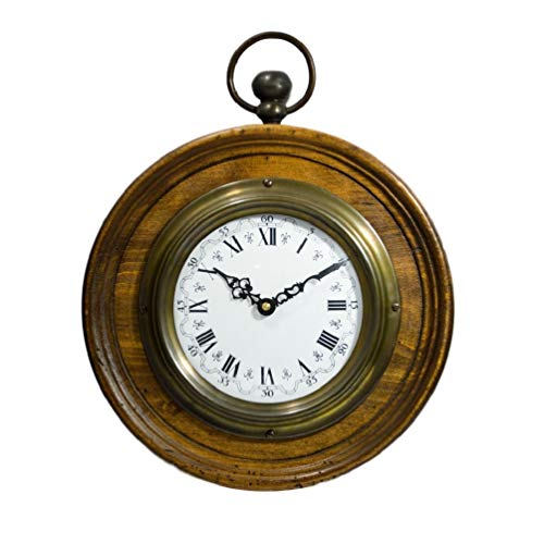 Capanni Orologio da Parete Handcrafted in Legno Artigianale Vintage Clock 2609