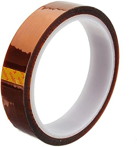 Sky Kapton Polymide High Temp Resistence Tape 25 mm x 33 Meter for Assembly Electronic Item