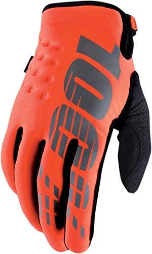 100% 10006-054-10 BRISKER Kaltes Wetter Handschuhe Orange Cal-Trans - S