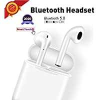 Auriculares Bluetooth, Auriculares inalámbricos Bluetooth In-Ear Mini Auriculares Auriculares,emparejamiento automático emergente,Deportivos para Android/iPhone Apple Airpods