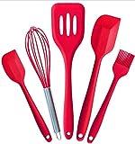 qwess Küchen-backwerkzeugset Silikonküchenartikel Fünfteilig