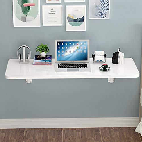DSFR Klapptisch Wand Tisch mit Zusammenklappbaren Esstischen, Computertisch Schreibtisch mit Doppelter Unterstützung Beistelltisch Küchenbock Schreibtisch Wasserdicht, Stabil