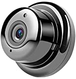 WOLEY Mini Wi-Fi Full HD Spy Camera with Cloud-Based Storage, 2-Way Communication, Night Vision and SD Card Support (Black) Security Camera (1 Channel)