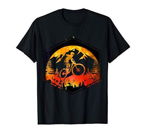 Mountain bike over city bike sayings gift mountain T-Shirt