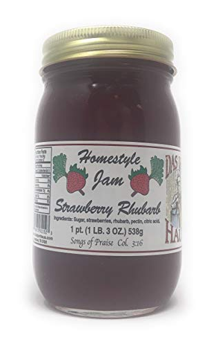 Strawberry Rhubarb Jam - 6