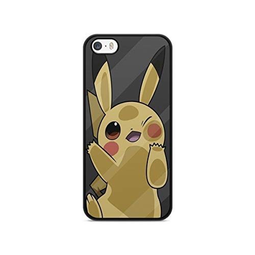Schutzhülle für iPhone 4/4S, Pokemon Go Team Pokedex Pikachu Manga Tortank Game Boy Color Salameche Valor Mystic Instinct Case + Eingabestift + Reinigungstuch Display 14