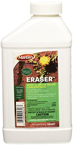 Martin's Eraser & Grass Concentrate Weed Killers review