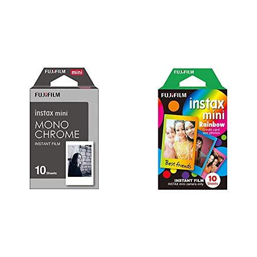 Fujifilm Instax Mini Frame WW1 Monochrom, Bunt & Mini Frame WW1 Rainbow, Bunt