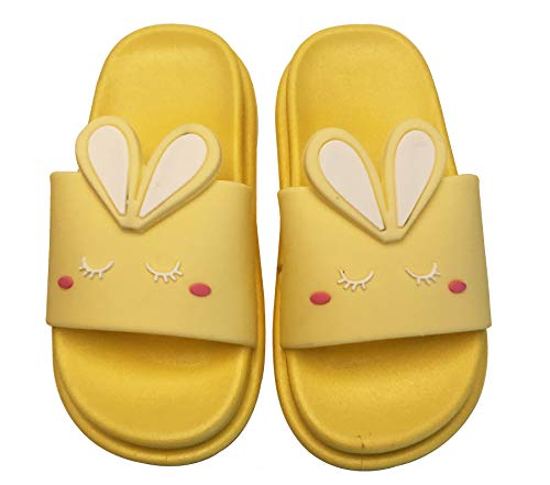 KVbabby Zapatos de Playa y Piscina para Niños Suave Bañarse Conejo Chanclas para Niña y Niño