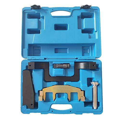 FreeTec Motor Einstellwerkzeug Steuerkette Nockenwellen Werkzeug Kompatibel mit Mercedes Benz W203 W204 W209 W211 W212 R171 M271 C E Klasse CLK SLK
