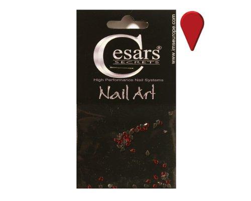 Cesars Nail Art Tear Drops rouge