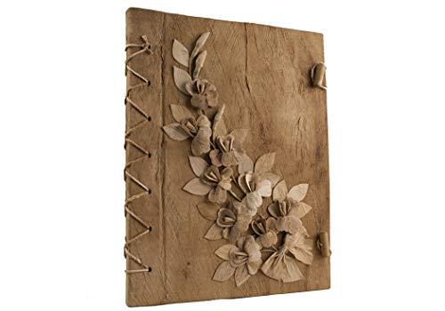 Life Arts Handmade Flaura Bark Journal, A4 (21x29cm) Natural |