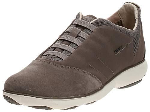 Geox U NEBULA B, Zapatillas de Deporte Hombre, Gris (Dove Grey), 42 EU