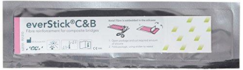 GC America 900834 everStickCandB Fiber Reinforcements, 1 cm x 8 cm Bundles