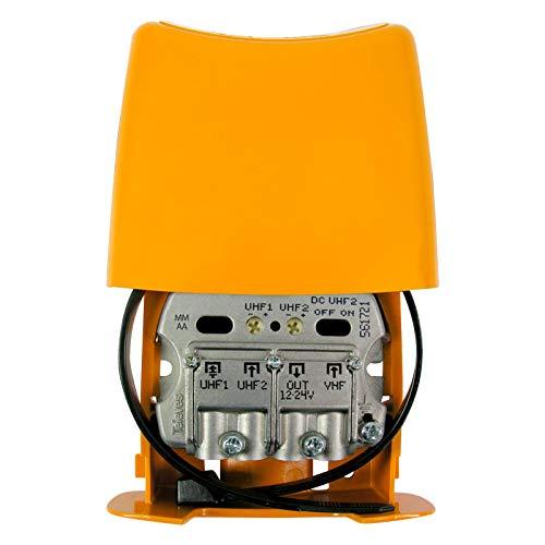 Televes Amplificador Mastil 28db 3e UHF-UHF-vhfmix Lte790 Nanokom 561721. Filtrado para LTE2...