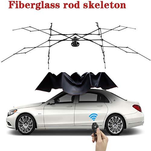 Mago Car Tent Movable Carport Vouw beweegbare auto-bescherming paraplu Sunproof autooverkapping met afstandsbediening autokleding