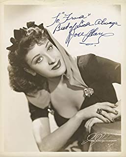Rose Blane - Inscribed Photograph Signed