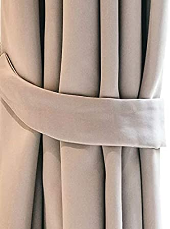 Outdoor Curtain Waterproof 220 x 155cm UV Rays Prevent Curtain Waterproof /& Windproof Drapery for Patio Beach Home Width 61 x Length 87, Pergola 129 1 Panel Front Porch Beige