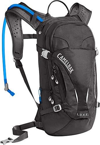 CamelBak Women's L.U.X.E. Mountain Bike Hydration Pack - Easy Refill Hydration Backpack, Black, 100 oz