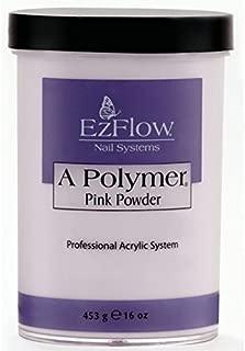 EZ Flow Polymer Pink False Nails, 16 Ounce