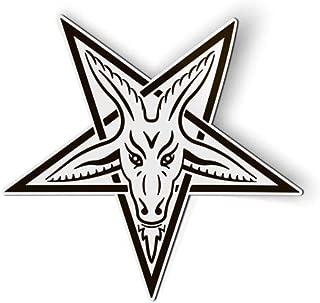 AK Wall Art Baphomet Goat Pentagram Occult - Magnet - Car Fridge Locker - Select Size