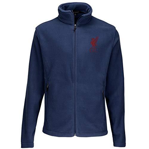 Desconocido Chaqueta de Forro Polar Oficial L.F.C para Hombre y Mujer Azul Azul M