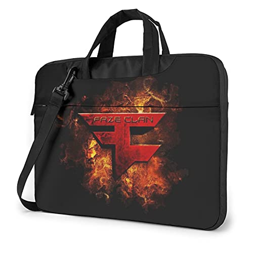 Fx_Ze Te_Am C1_An - Bolsa para ordenador portátil, 15,6 pulgadas, maletín de oficina, para hombres, mujeres, tablet y ordenador