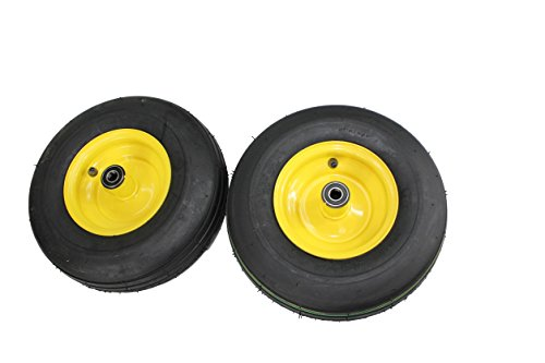 Antego 13x5.00-6 Tires & Wheels 4 Ply for Lawn & Garden Mower Turf Tires (Set of 2)