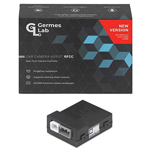 Germes Lab. RFCC Car Camera Control System Compatible with Touch 2 (with CY17, CY19 Head Units, Entune 3.0, and Link Head Units)