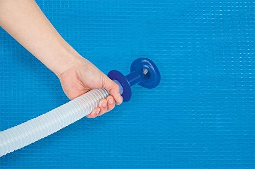 Bestway - Kit de nettoyage piscine hors sol, skimmer flottant + aspirateur venturi + épuisette + perche alu télescopique 2,79 m + tuyau 7,50 m