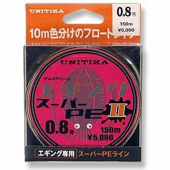 ユニチカ(UNITIKA) ライン キャスライン エギングスーパーPEII 150m 0.6号