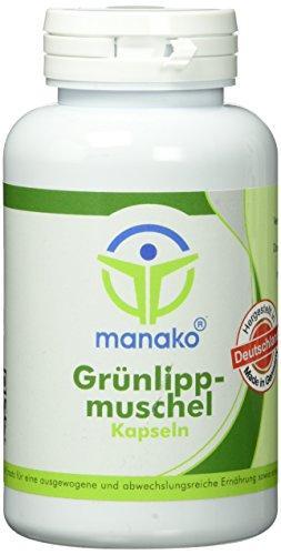 manako Grünlippmuschel Kapseln, 2 x 150 Stück, Dose a 90 g (2 x 150 Kapseln)