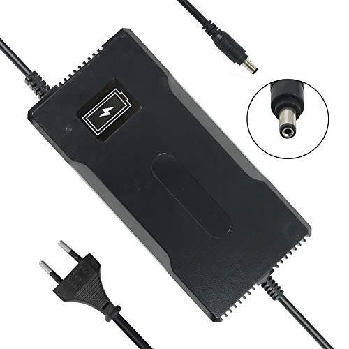 YZPOWER 54.6V 4A Cargador de batería para Patinete electrico, Cargador para Bicicleta...