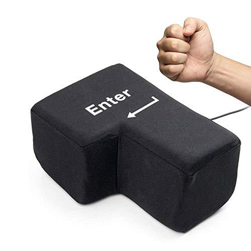 BIG ENTER 巨大 ストレス解消 グッズ エンターキー 枕 ビッグ エンターキー パソコン PC BIG 約1700倍 USB おもしろグッズ 大きいクッション 贈り物 デカい枕 抱き枕 ストレス発散 誕生日プレゼント
