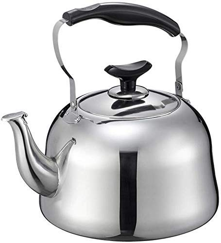 ZGQA-GQA 304 stainless steel kettle gas thick whistle large capacity home gas flat bottom induction cooker gas kettle