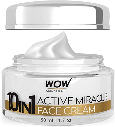 Glamorous Hub WOW 10 in 1 Active Miracle Day Face Cream 50ml (Packing May Vary)