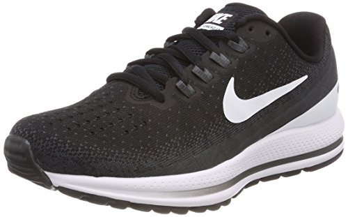 Nike Women's Competition Running Shoes, Black Black White Anthracite 001, 8.5 us