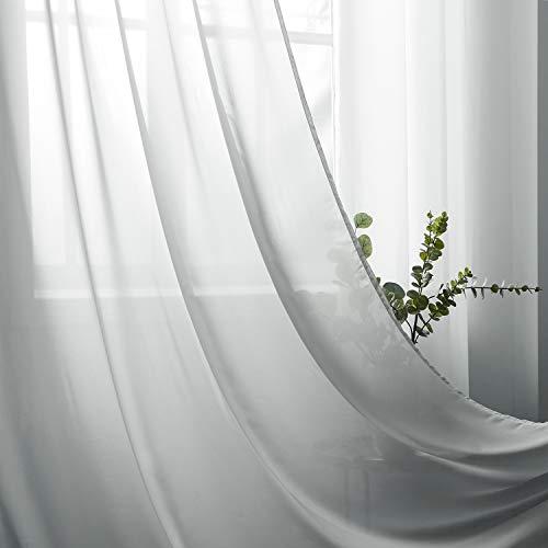 cortinas salon modernas 2 piezas plata