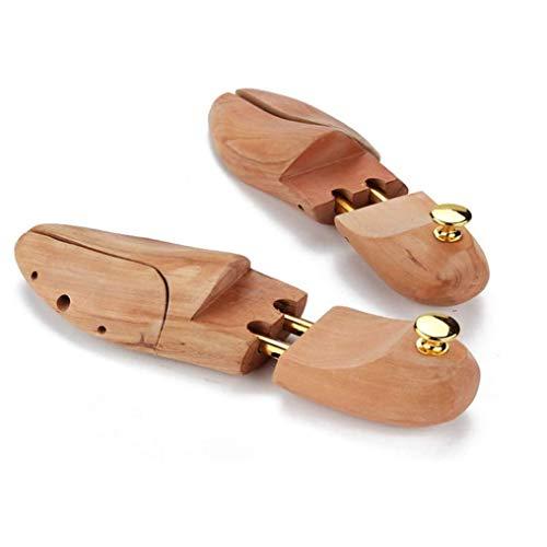 SJYSD-Bath Mat Zapatero de Madera, Forma Antiarrugas, absorción de Humedad y desodorización, Reduce la Fuerza de apriete del Zapato, Adecuado para Varios Tipos de Calzado
