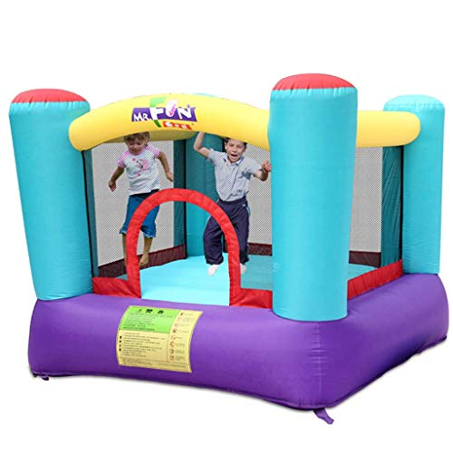 WRJY Kid Inflatable Castle,Children's Family Playground Indoor Mini Jumper Child Playpen Best Gift for Your Child,Colors,200 200 160cm