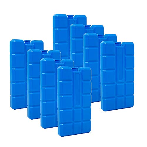 Set of 8 Cool Packs 200 g Blue by ToCi Haushalt