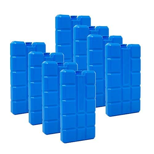 Conjunto de 8 Cool Packs 200 g Azul de ToCi Haushalt