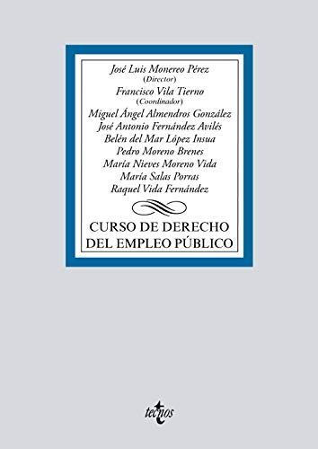 Curso de Derecho del empleo público (Derecho - Biblioteca Universitaria de Editorial Tecnos)