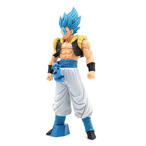 ALTcompluser Anime Dragon Ball DBZ Gogeta Blue statuetta in PVC, statuetta da collezione, giocattolo, stanza, decorazione
