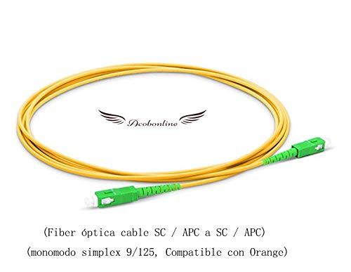 Acobonline Fiber óptica Cable SC/APC SC/APC monomodo